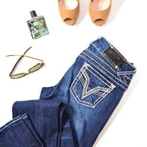 Vigoss Chelsea Slim Boot Cut Jeans